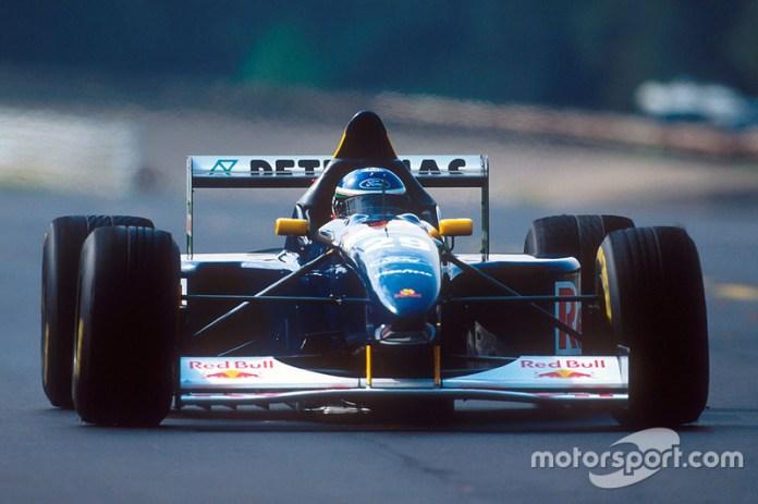 Jean-Christophe Boullion, Sauber C14 Ford, 1995