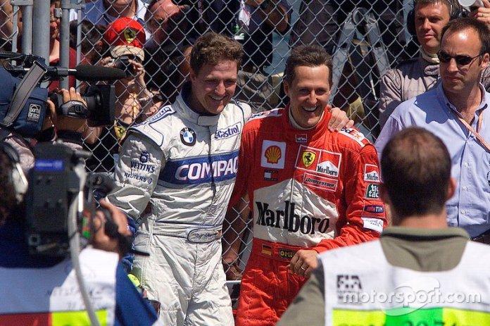 Ralf Schumacher, Williams y Michael Schumacher, Ferrari