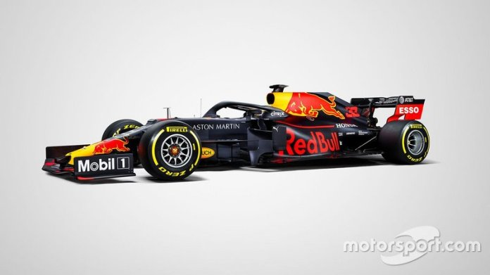 Presentación del Red Bull RB15
