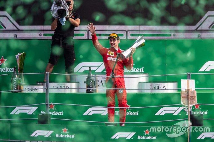 Primero en el GP de Italia