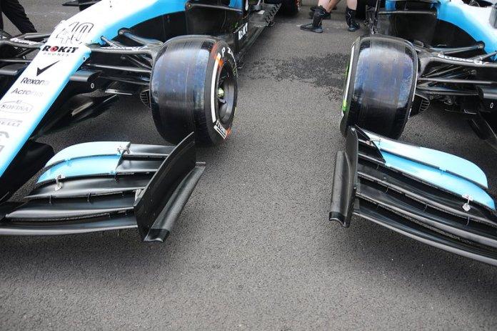 Williams Racing FW42, alerón delantero