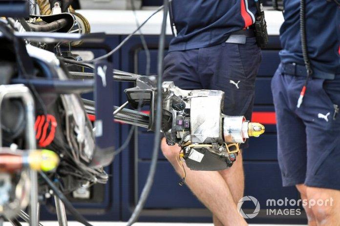 Frenos traseros de Red Bull RB15