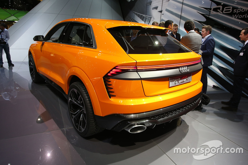 audi rs8 concept at