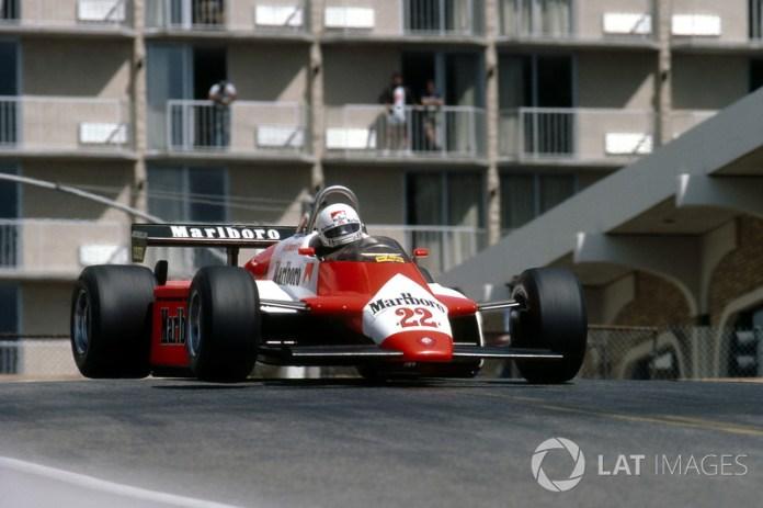62: Andrea de Cesaris, Alfa Romeo 182