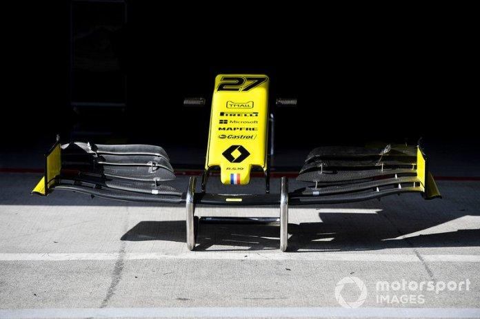 Alerón delantero del Renault R.S.19