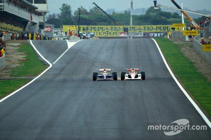 5. Mansell vs Senna (Spain 1991)