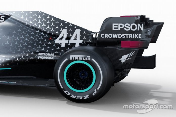 Detalles del Mercedes AMG F1 W11