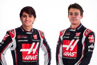 Pietro Fittipaldi and Louis Delétraz, Haas F1 Team