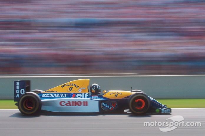 72: Damon Hill, Williams FW15C Renault
