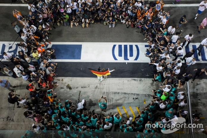 El retiro de Nico Rosberg como campeón