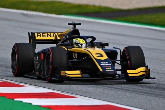 Zhou Formula 2 in Austria