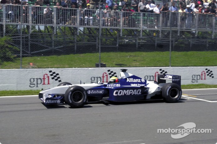 Ralf Schumacher, Williams-BMW FW23, 2001