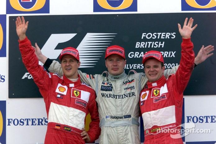 2001 GP de Gran Bretaña