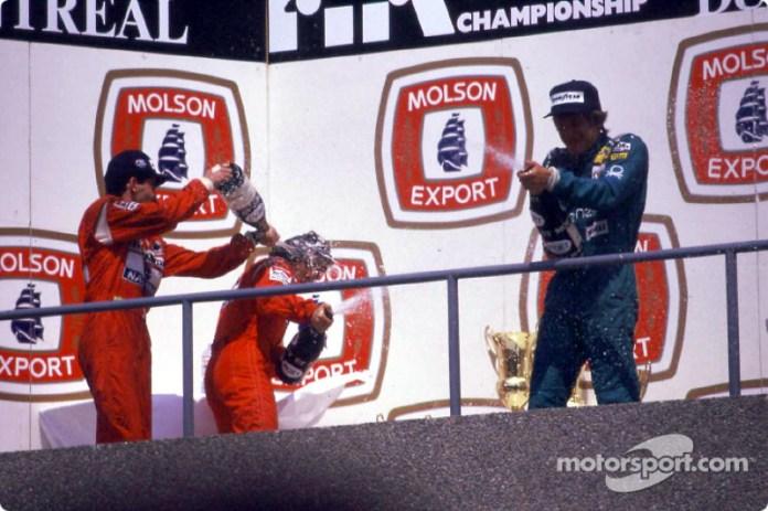 15. GP de Canadá 1988: Ayrton Senna y Alain Prost (McLaren)