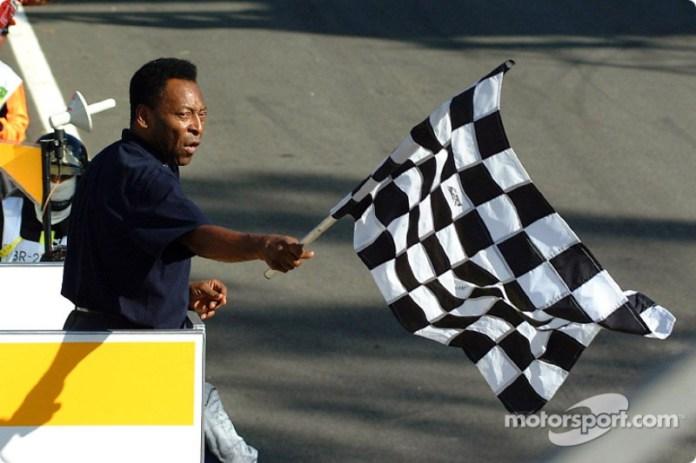 GP de Brasil 2002 : Pelé no reacciona