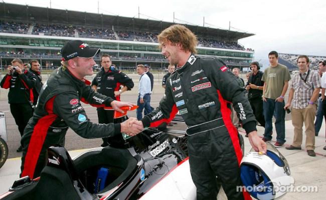Race Winners Jos Verstappen And Singer Jay Kay At Thunder