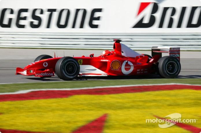 2003: todo al rojo