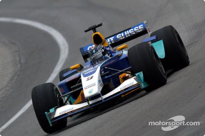 Heinz-Harald Frentzen, Sauber-Petronas C22, 2003
