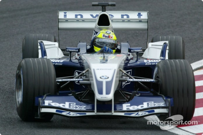 Ralf Schumacher, Williams-BMW FW25, 2003