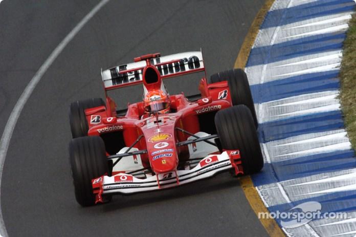 Ferrari F2004 - 15 victorias