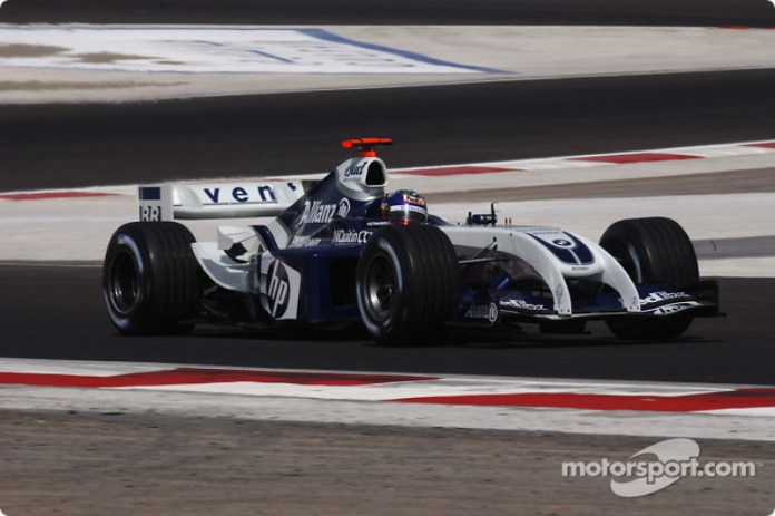 Juan Pablo Montoya, Williams-BMW FW26, 2004