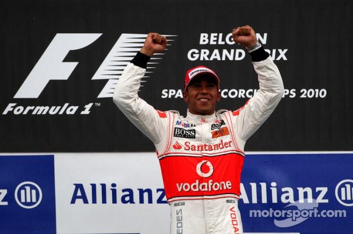 14- Gran Premio de Bélgica 2010, McLaren