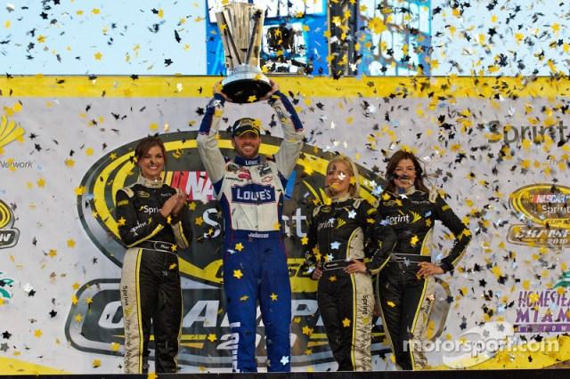 2010 - Champion over Denny Hamlin by 39pts