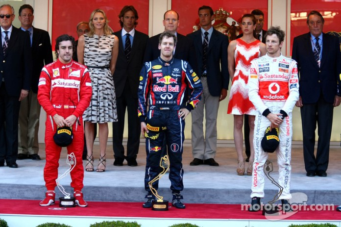 67- Fernando Alonso, 2º en el GP de Mónaco 2011 con Ferrari