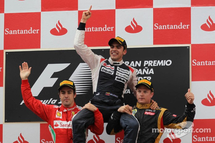 77- Fernando Alonso, 2º en el GP de España 2012 con Ferrari