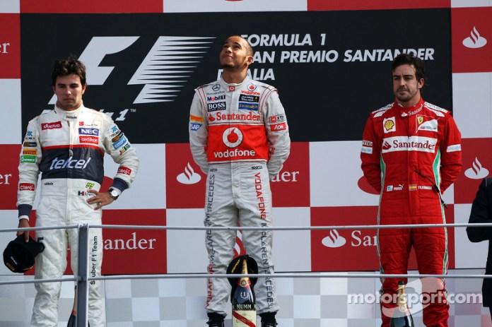 82- Fernando Alonso, 3º en el GP de Italia 2012 con Ferrari