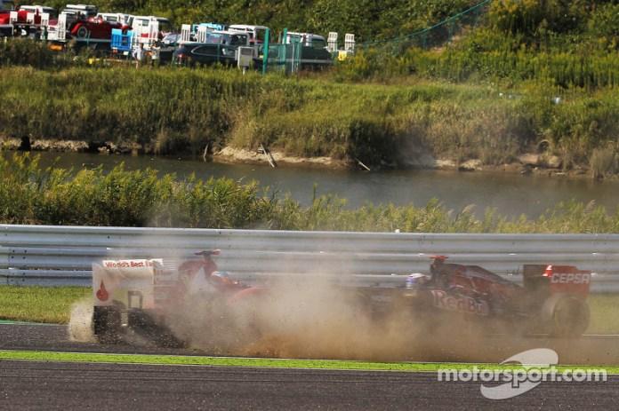 GP de Japón 2012: otra vez un Lotus y la ventaja se esfuma