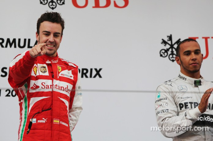 90- Fernando Alonso, 1º en el GP de China 2013 con Ferrari