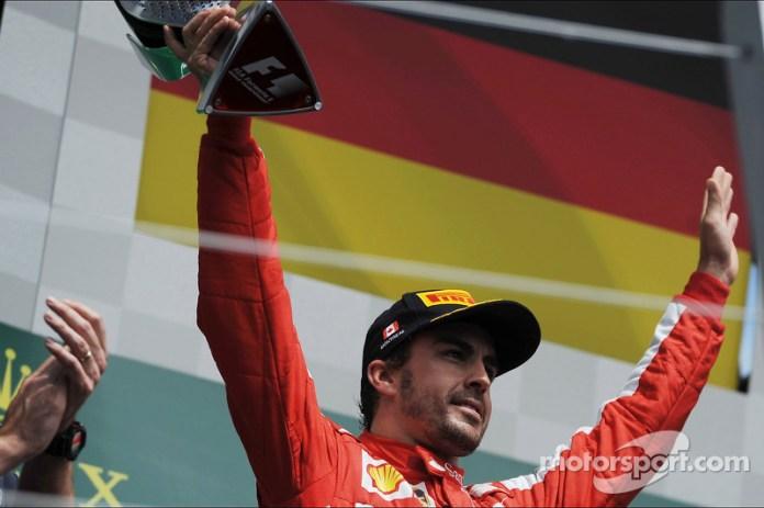 92- Fernando Alonso, 2º en el GP de Canadá 2013 con Ferrari