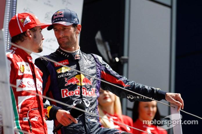 93- Fernando Alonso, 3º en el GP de Gran Bretaña 2013 con Ferrari