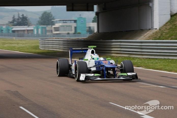 Simona de Silvestro prueba un Sauber F1, Fiorano2014