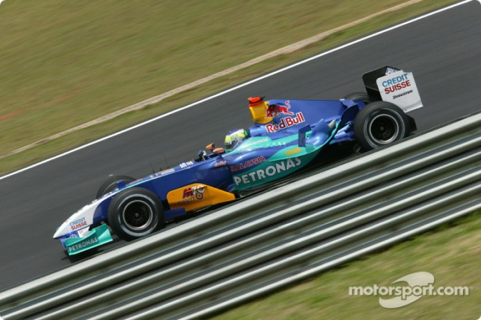 Giancarlo Fisichella, Sauber-Petronas C23, 2004