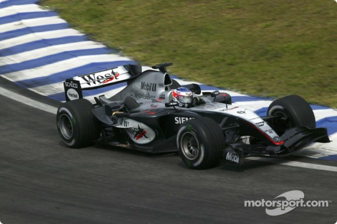 2004: McLaren-Mercedes MP4-19