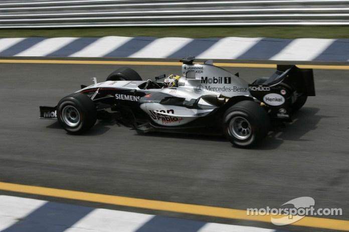 2005: McLaren-Mercedes MP4-20