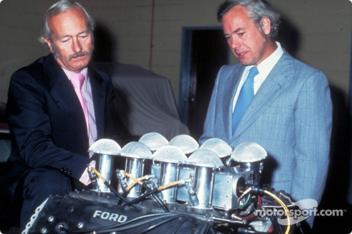 Colin Chapman y Keith Duckworth