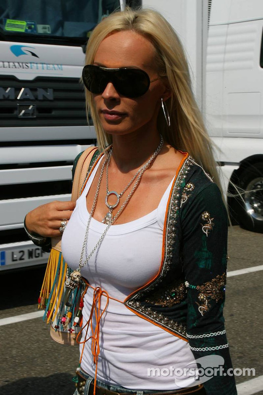 Cora Schumacher at German GP