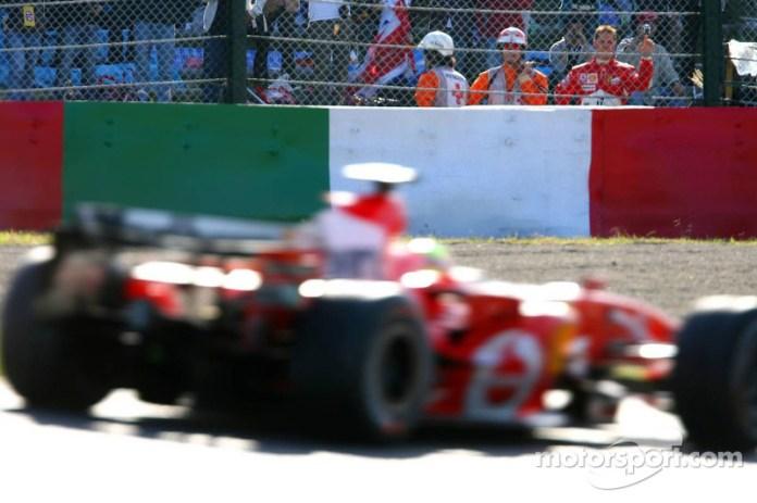 El abandono más amargo de Michael Schumacher
