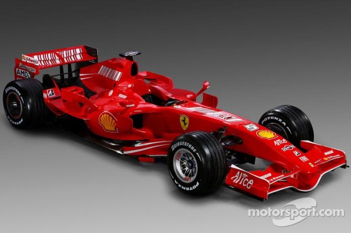 Presentación de la Ferrari F2007 de 2007