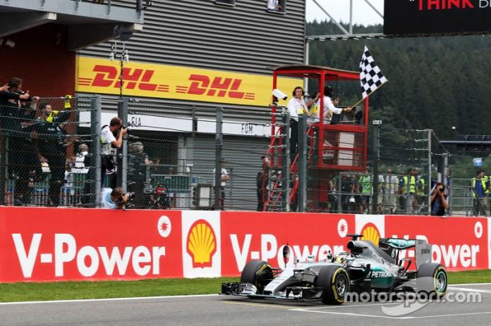 39- Gran Premio de Bélgica 2015, Mercedes