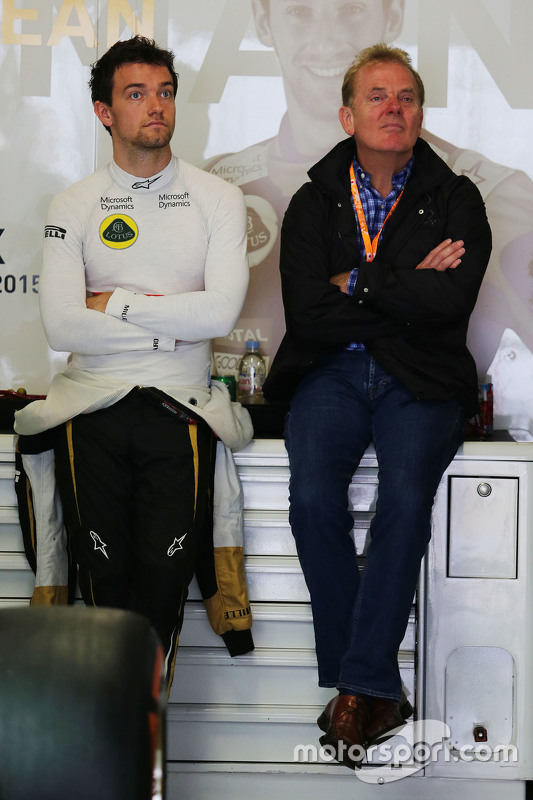 Jolyon Palmer Lotus F1 Team Test and Reserve Driver with
