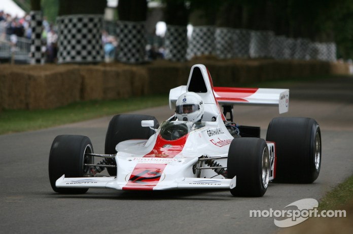 Daryl Taylor, 1973 Shadow-Cosworth DN1 (ex-Graham Hill)