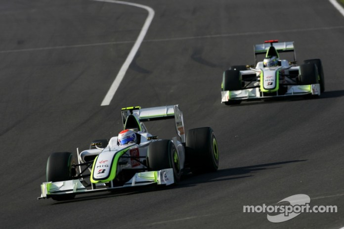 Rubens Barrichello, Brawn GP y Jenson Button, Brawn GP