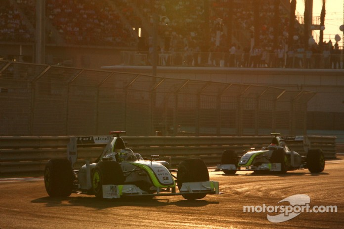 Jenson Button, Brawn GP lidera a Rubens Barrichello, Brawn GP