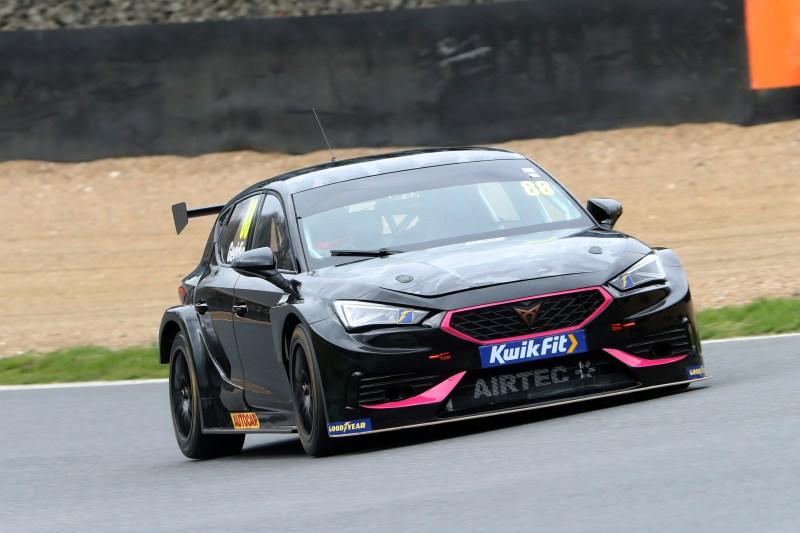 Glyn Geddie, Team HARD Cupra, Brands Hatch test 2021