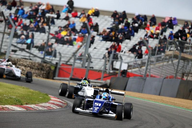 British F4 runner-up Zak O'Sullivan is the early BRDC British F3 points leader