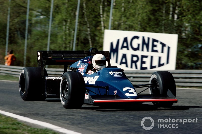 Martin Brundle (Tyrrell 012 Ford), 1984 Belgium GP